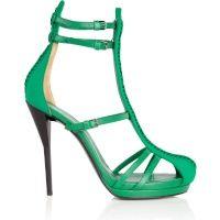 Green killer heels