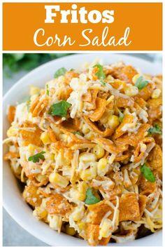 Fritos Corn Salad - Barbecue Side Dish - Fake Ginger