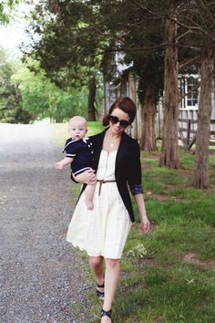 both look chic. every baby boy needs a sailor suit.