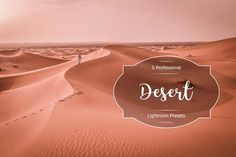 Desert Lr Presets by FaeryDesign on Professional Lightroom Presets, Deserts, Photoshop, Creative, Diy, Bricolage, Desserts, Handyman Projects, Dessert