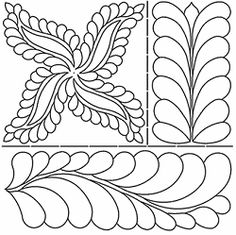 Sten Source W-1001 Stencils and Templates Quilt-Overall C.L Design 8-Inch X 18-Inch