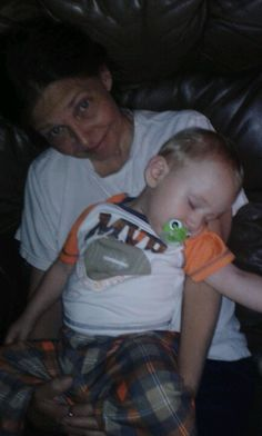 """Today was a day with missing naps... as is now evident by the toddler that passed out on his mom-mom... a very, very rare event... usually only the mommy pillow will quiet the babbling beast... but not only were naps missed, but it was grocery shopping day... which can be annoying, """"no don't grab that!"""" """"Sit down before you hurt yourself"""" or fun, """"yay, baby can push the cart!"""" """"Isn't he the cutest thing? Such a big boy!"""" Today was the latter, until i returned home and he was a fuss-budget…"""