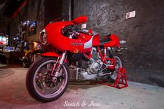 ducati cafe racer motorcycle miami scotch and iron