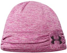 2b00313c5bd Ruching detail on the side of these high quality womens twist tech training golf  beanie hats
