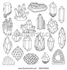 http://thumb9.shutterstock.com/display_pic_with_logo/2955061/360235862/stock-vector-hand-drawn-line-crystal-mineral-gem-set-360235862.jpg