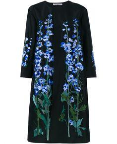 ALICE ARCHER | Constantina Floral Silk Coat
