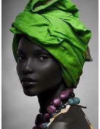 beautiful Sudanese woman