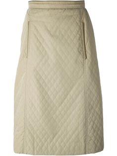 Céline Vintage quilted skirt