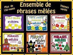 Phrases mêlées (Ensemble complet)