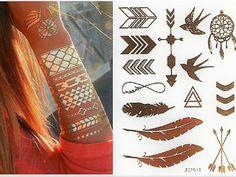 Flash Tattoos - Metal tattoos - Buy online in UAE - Let's Beach