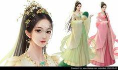 Chinese Theme, Anime Mermaid, Beautiful Fantasy Art, Fantasy Character Design, Princess Zelda, Disney Princess, Boy Art, Fantasy Characters, Cute Girls