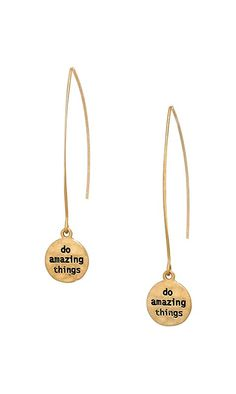 Do Amazing Things Earrings
