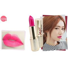 Silvercell Lip Soft Dye Matte Lipstick Nude Tattoo Waterproof Durable Cosmetic Set ** This is an Amazon Affiliate link. Visit the image link more details.