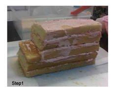 Mimim's Cupcake: School Bus Cake