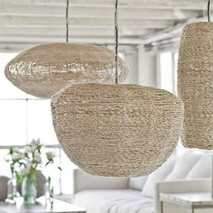 Pendant lights!