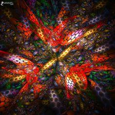 HexStorm: Artwork by James Alan Smith