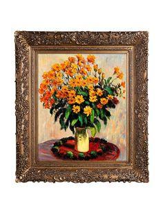 Claude Monet Vase of Chrysanthemums Framed Oil Painting, http://www.myhabit.com/redirect/ref=qd_sw_dp_pi_li?url=http%3A%2F%2Fwww.myhabit.com%2F%3F%23page%3Dd%26dept%3Dhome%26sale%3DA3C266IXUWHCEE%26asin%3DB0095PL7YE%26cAsin%3DB0095PL7YE