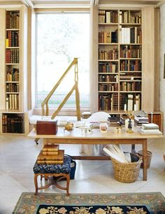 Floor-Ceiling bookcases. See more breathtaking gardens and interiors designed by Bunny Mellon Bunny Mellon's influence on the design world of the 20th century AD remembers decorating legend Betty SherrillA new U.K. exhibition examines the work of the designer and writer at two of his favorite houses, Ashcombe and Reddish