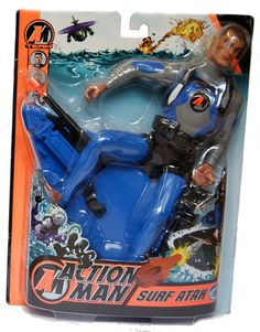 Hasbro Action Man - Surf Atak - Action Man