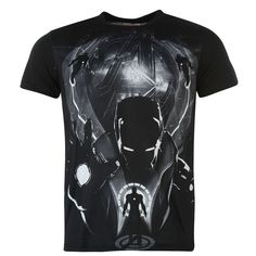 Mens Official Marvel Avengers Printed T Shirt