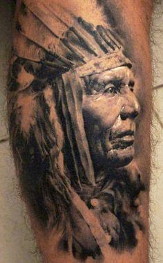 native american girl tattoos - Google Search
