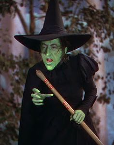 The Wicked Witch of the West  Margaret Hamilton....you will never be forgotten