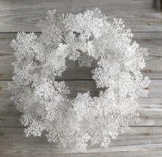 Let It Snow Winter Front Door Wreath