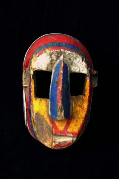 Mask from the Bozo people - Private collection of Stephane Peray - French artist based in Bangkok Arte Tribal, Tribal Art, African Masks, African Art, African Sculptures, Art Premier, Art Sculpture, Masks Art, Arte Popular