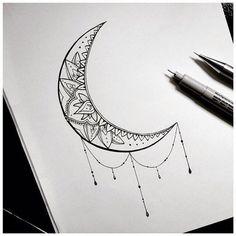 Moon tatto
