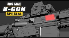 N-Gons Special - Triangles, Quads & N-Gons in hardsurface modeling - 3Ds...