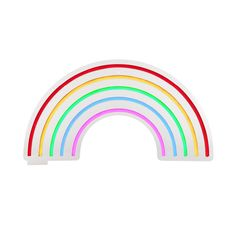 molly meg rainbow neon wall light- out of stock