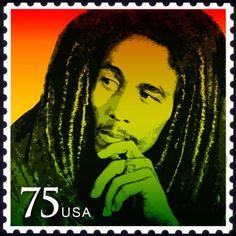 USA 2012 - Robert Nesta Marley Booker, más conocido como Bob Marley, fue un músico, guitarrista y compositor jamaiquino.