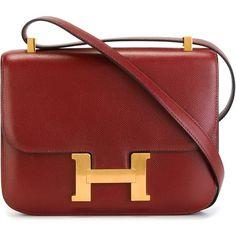 Hermès Vintage 'The Constance' shoulder bag (61.140 HRK) ❤ liked on Polyvore…