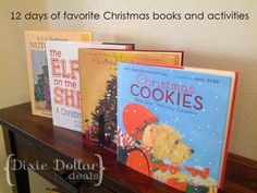 12 Christmas Books and Activities to Share with Your Kids {Guest post by Dixie Dollar Deals on OneCreativeMommy.com} #christmasactivities #kidschristmas