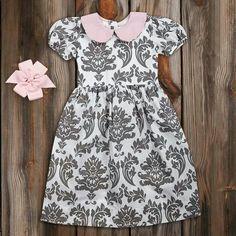 Gray & Pink Dress