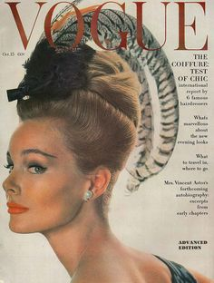 Vogue, October 1962.1960s fashion. covers