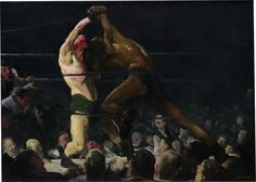 Both Members of This Club George Bellows - Ashcan School - 1909