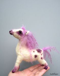Little chubby pony - FIBER ARTS  - Holiday crafts, Knitting, sewing, crochet, tutorials, children crafts, jewelry, needlework, swaps, papercrafts, cooking and so much more on Craftster.org