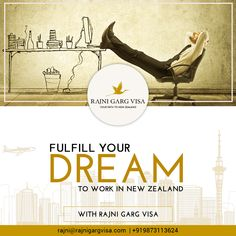 Plan your future with us for a successful career. Step out of your comfort zone and fly abroad with Rajni Garg Visa. Study, settle or work in New Zealand and build a prospering career to succeed in life. Get in touch today to explore tremendous career opportunities and enjoy the high-class living facilities in New Zealand. Contact: +919873113624 #studyinnewzealand #studyabroad #studentvisa #studyoverseas  #immigration #newzealand #immigrationconsultant #VisaAdvisor #WorkVisa #rajnigargvisa New Zealand Work Visa, Work In New Zealand, My Dream Came True, Career Opportunities, High Class, Study Abroad, Comfort Zone, Dreaming Of You, Student