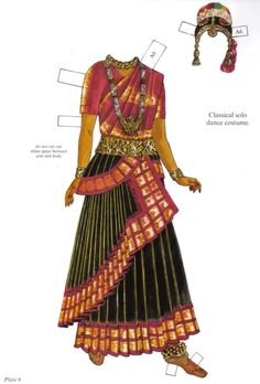 Traditional Fashions from India by Ming-Ju Sun, Dover Publications (6 of 18)