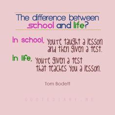 School / Life... :)