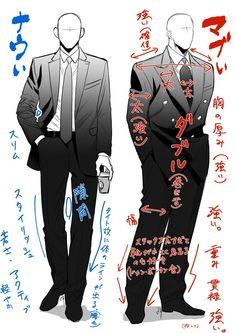 """拝@最新話配信中さんのツイート: """"わかるものだけわかればよい・・・… """" Suit Drawing, Drawing Base, Body Reference Drawing, Art Reference Poses, Fashion Design Drawings, Poses For Men, Drawing Clothes, Character Outfits, Anime Outfits"""