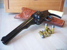 S&W Schofield Mod 3, 45 caliber revolver Find our speedloader now! http://www.amazon.com/shops/raeind