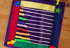 Today I Felt Crafty: Rainbow Quiet Book 2