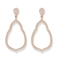 The dazzling ornamentation in these Fatima's Garden #earstuds flatter the soft shape of the ear perfectly.