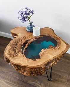 epoxy resin table how to make . epoxy resin table diy how to make . Epoxy Wood Table, Epoxy Resin Table, Diy Epoxy, Epoxy Resin Art, Diy Resin Art, Diy Resin Crafts, Resin And Wood Diy, Stick Crafts, Wood Tables
