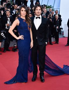 Nikki Reed and Ian Sommerhalder -  Cannes 2015   Sup3rb