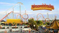 The highest roller coaster in Europe   Shambhala · PortAventura World Pa...