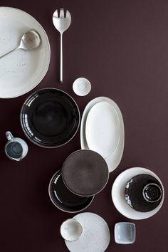 """Essteller """"Nordic Coal"""" Ø 26 cm von Broste Copenhagen Casa Wabi, Wabi Sabi, Tabletop, Design Creation, Mad About The House, Kitchenware, Tableware, Broste Copenhagen, Dish Sets"""