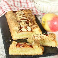 Snabbaste Äppelkakan, en riktigt läcker och lättbakad äppelkaka med lite segmjuka, frasiga kanter.